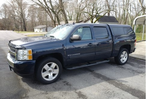FOR SALE:  2008 Chevy Silverado, low miles