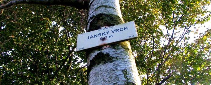 Jański Wierch tabliczka