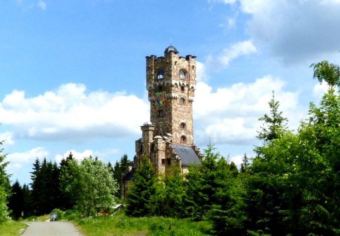 Stara wieża na Pradziadzie