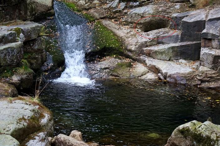 Wyszedł z Domu: Naturalny wodspad w Karpaczu ?