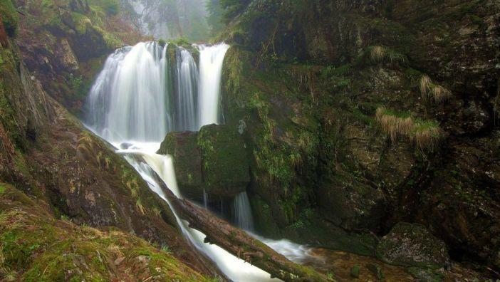 Najwyższy z wodospadów tzw. Wielki Wodospad.