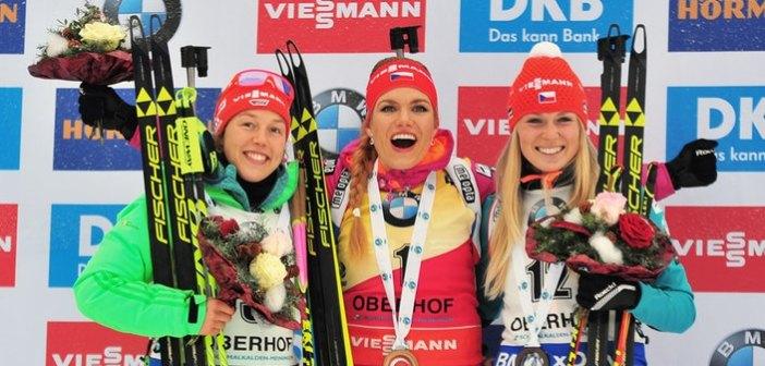 Podwójne podium biathlonistek z izerskiego Jablonca nad Nysą w Pucharze Świata!