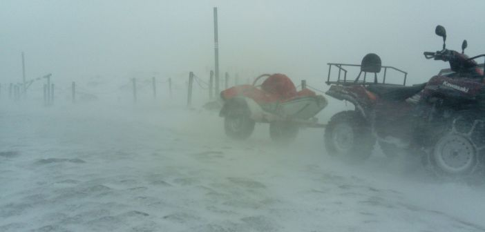 Orkan Grzegorz na Śnieżce! 180 km/h! BYLIŚMY TAM! [29.10.2017]