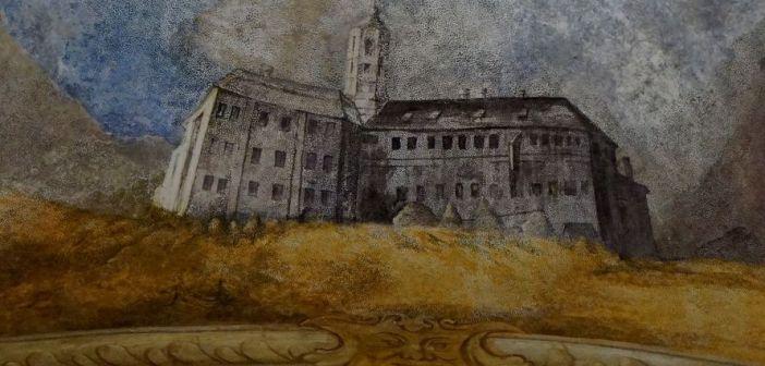 4 strony barokowego Książa na freskach
