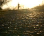 O starej, kamiennej drodze między polami [POGÓRZE IZERSKIE]