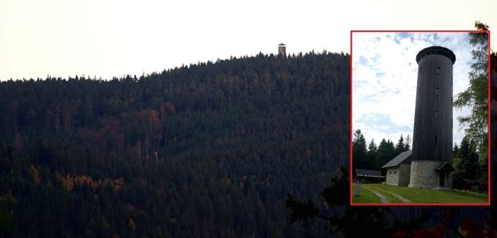 Wieża na Borówkowej. Panoramy, historia, ciekawostki! [GÓRY ZŁOTE]