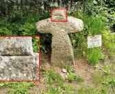 O kamiennym krzyżu z Bukówki. Co oznacza wyryta linia? Opowiada niezwykłą historię regionu …