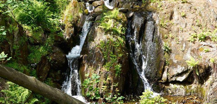 Wodospady czeskich Karkonoszy: Wodospady Wawrzyńcowej Doliny