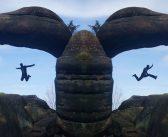 Kamienna Brama na szczycie Velká kupa w Broumowskich Ścianach [GÓRY STOŁOWE]