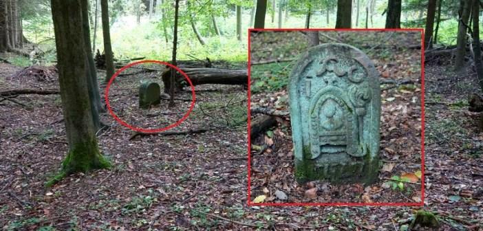 Cysterski kamień graniczny w Kruczej Dolinie. Skąd się wziął w tym miejscu? [GÓRY KAMIENNE]