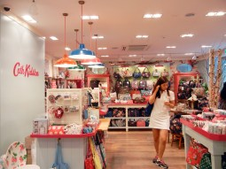 Pretty Cath Kidston store where everything was too expensive for me..