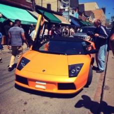 Spotted: Lamborghini Murcielago (?)