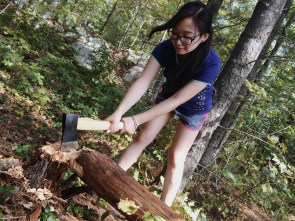Chopping wood!!