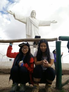 At Cristo Blanco