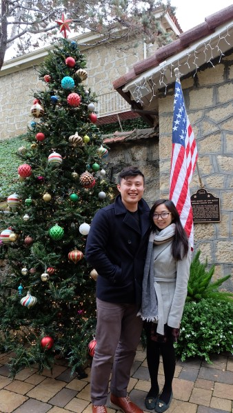 Our American Christmas photo