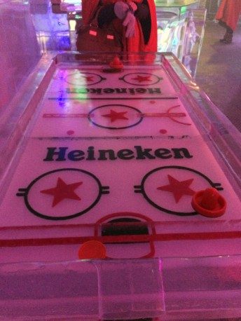 Ice Hockey, literally.