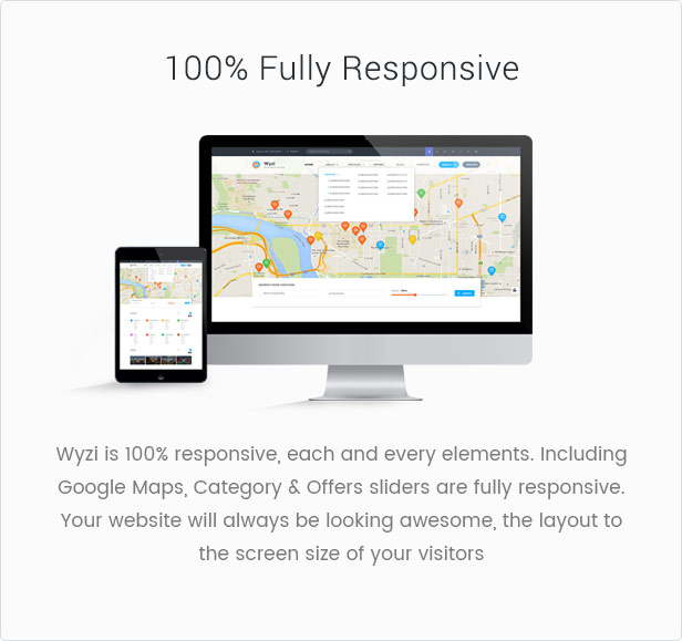 Wyzi Business Finder Social Directory is a Responsive WordPress Theme
