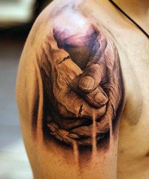 Tatuaze 3d Dlonie Blog Z Tatuazami