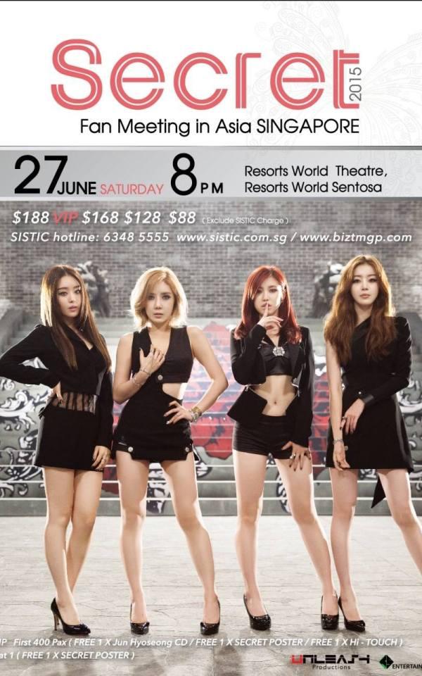 SECRET 1st Fan Meeting in Asia - Singapore