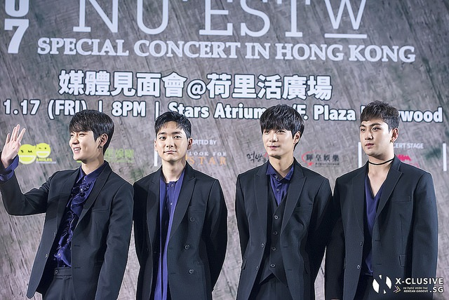 (x)clusive!: NU`EST W-ins Hearts at Media Conference in Hong Kong