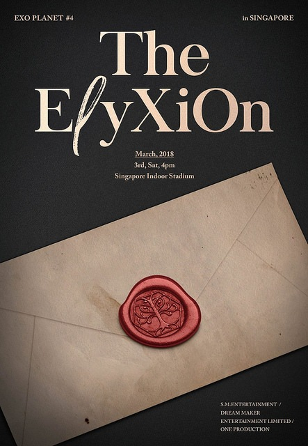 """EXO to hold """"EXO PLANET #4 – The EℓyXiOn – in SINGAPORE"""" this March"""