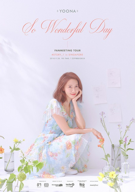 YOONA to Hold 'So Wonderful Day #Story_1 in Singapore' Fanmeet this September