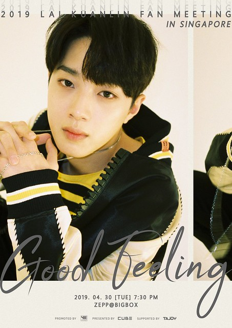 Lai KuanLin to Hold 'Good Feeling' Fan Meeting in Singapore