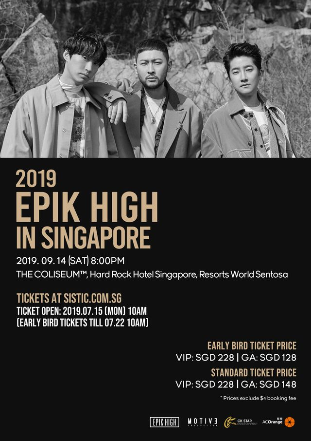 Be Sleepless with EPIK HIGH at their First Concert in Singapore