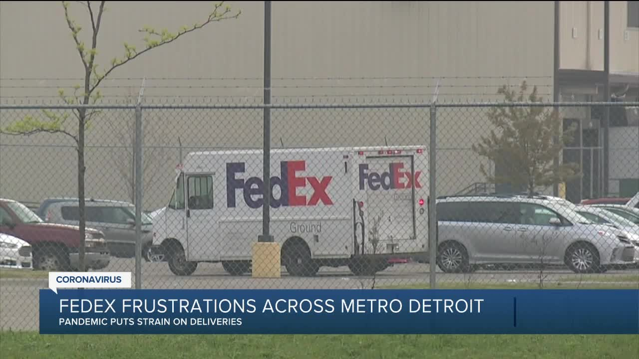 fedex frustrations across metro detroit