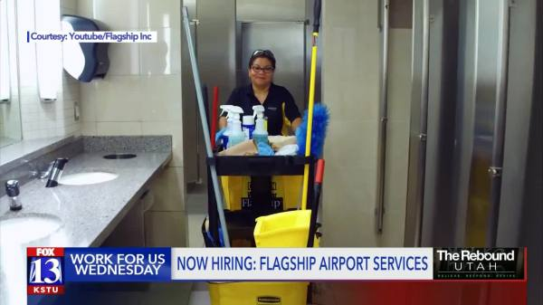 Work for us Wednesday: 100 jobs at SLC Airport and a job ...