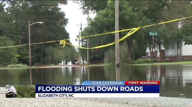 Flooding shuts down roads across North Carolina ...