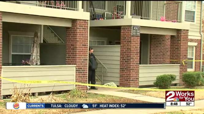 Two People Were Hospitalized In Tulsa After A Shooting At An Apartment Complex Early Saay