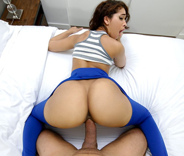 Ripping Kittys Yoga Pants To Free That Big Bootie Brown Bunnies Bangbros