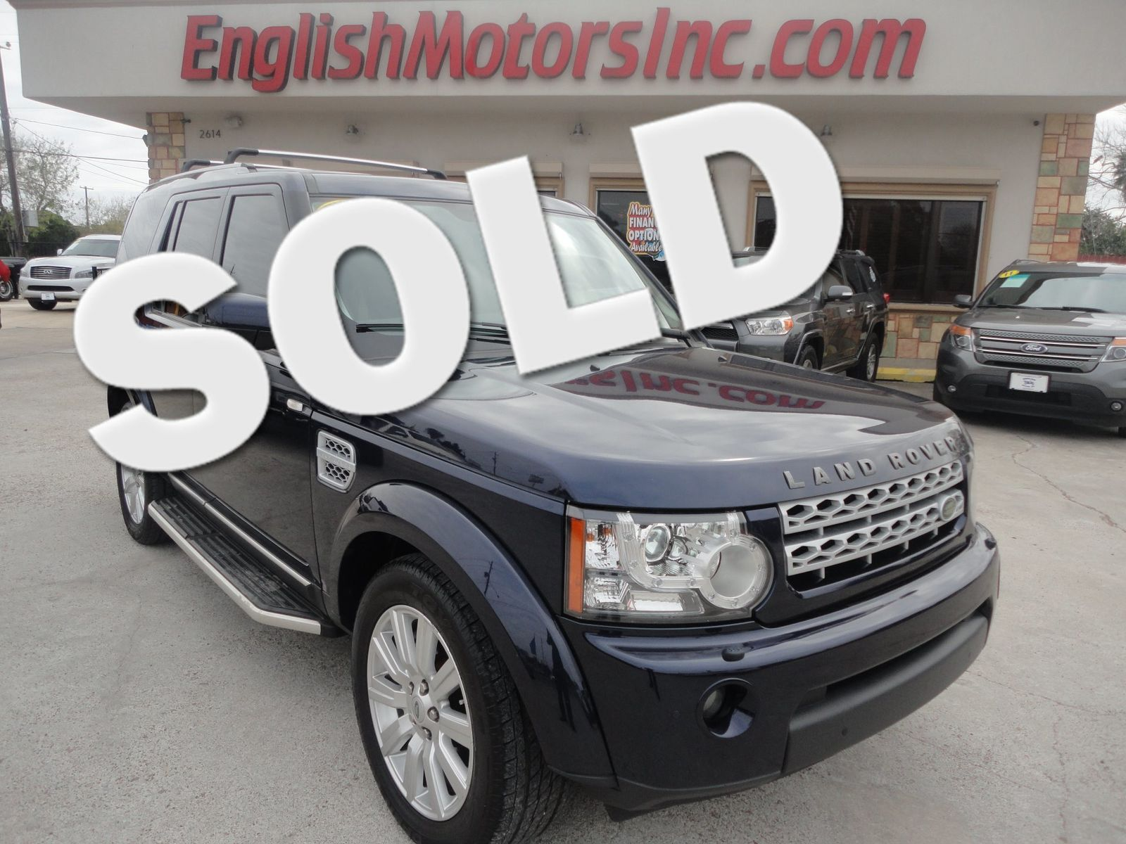 2013 Land Rover LR4 HSE Brownsville TX English Motors