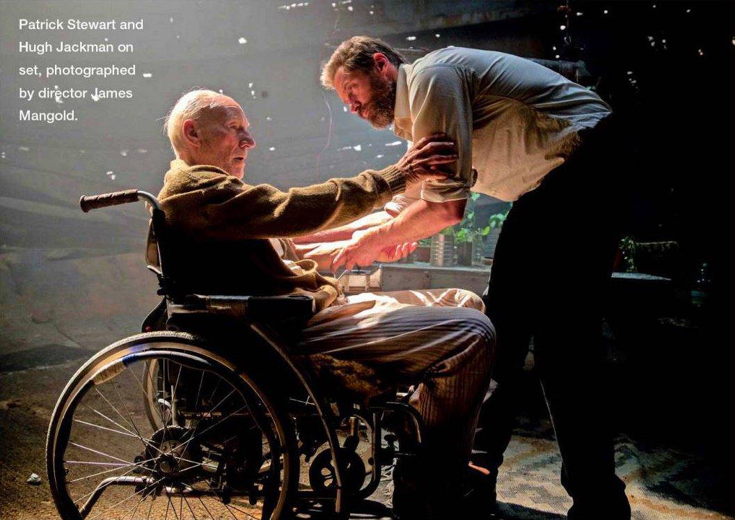 New LOGAN photo features Hugh Jackman and Patrick Stewart ... | 1056 x 747 jpeg 133kB