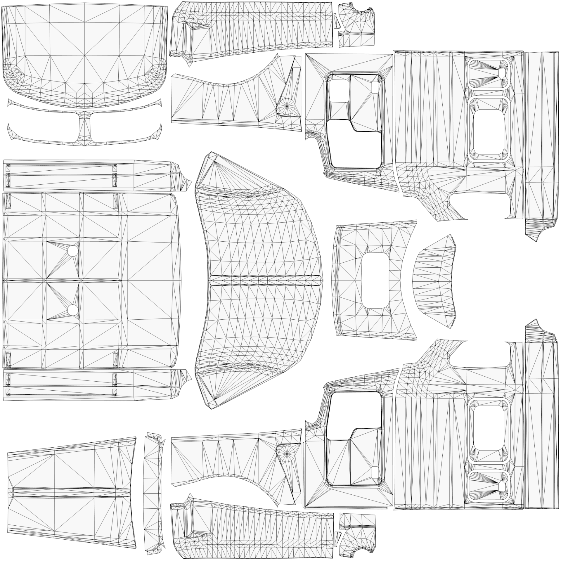 Kenworth W900 Template