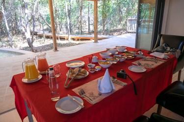 クルーガー国立公園 AM Lodge (AMロッジ) : 朝食
