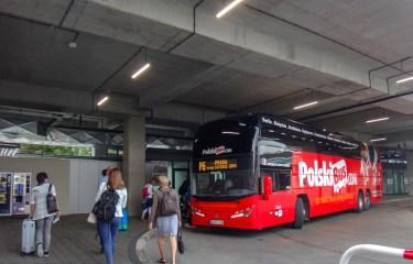 PolskiBus (ポルスキバス) (クラクフ → ブルノ) 乗車記
