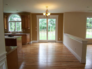 The  beauty of clean hard wood floors