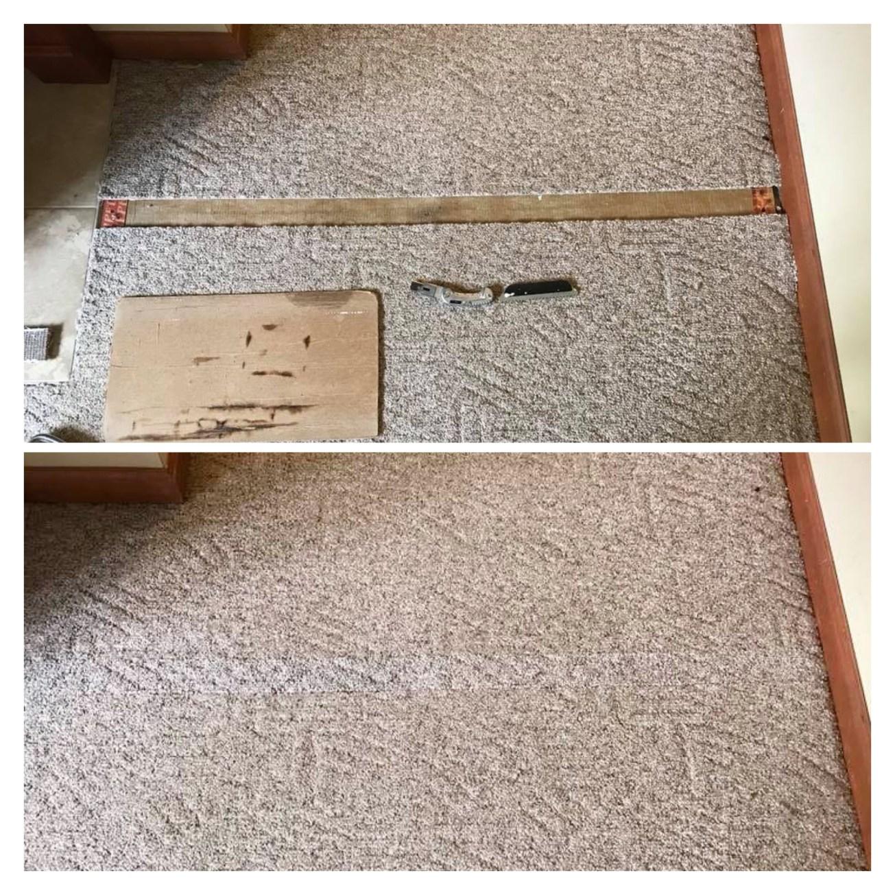 Carpet repair service in Edwardsville, IL