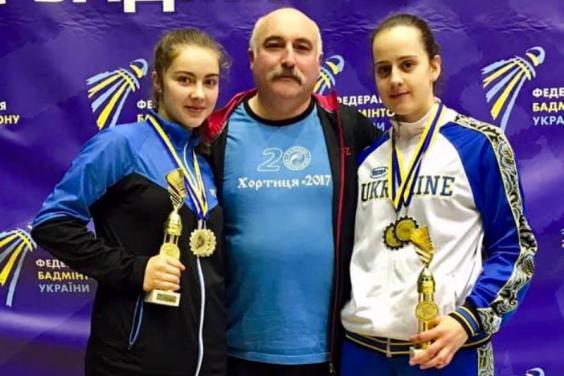 4 золотих медалі на Кубку України з бадмінтону