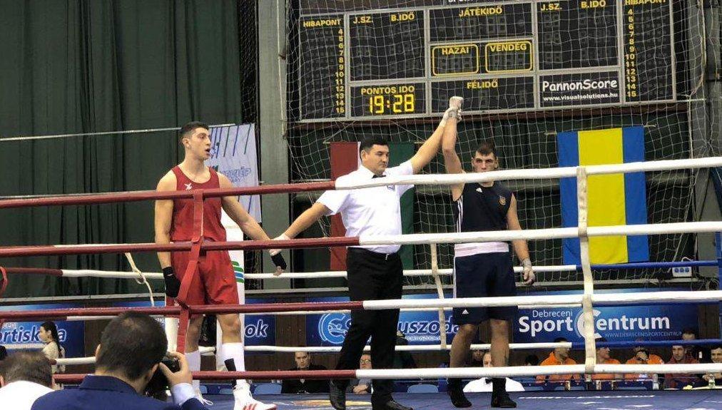 Золота медаль Харківського боксера