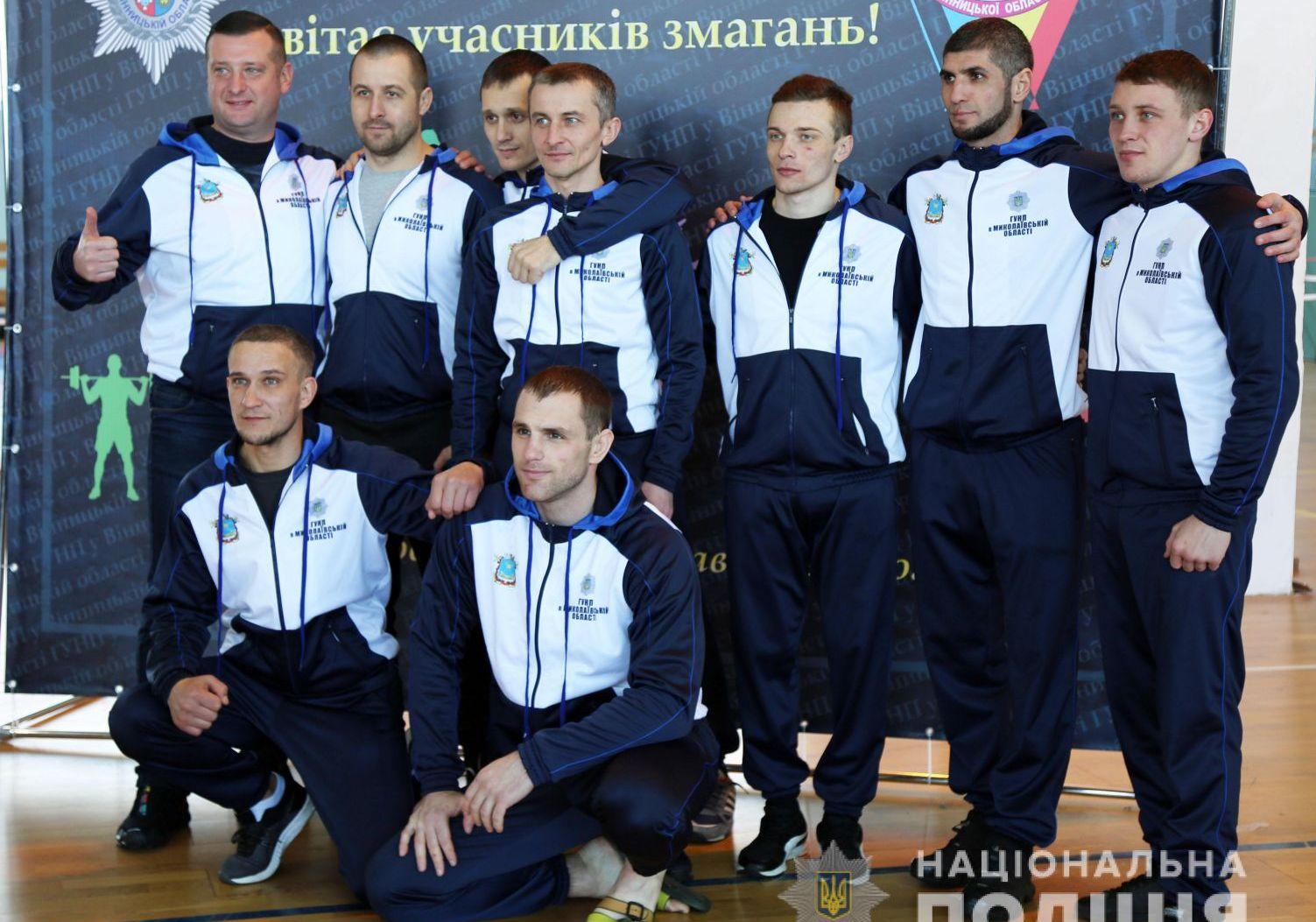 Харківські поліцейські стали кращими на Всеукраїнському Чемпіонаті