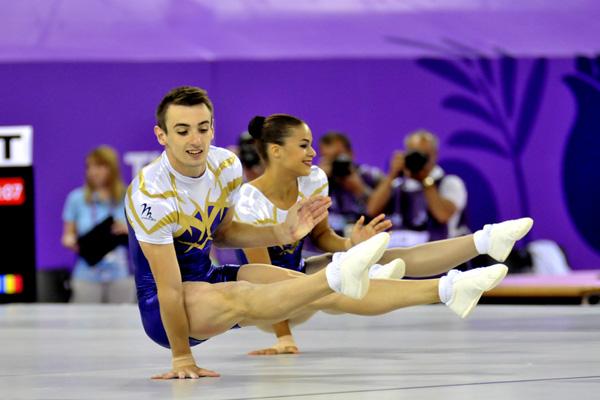 У Харкові стартував чемпіонат з аеробіки