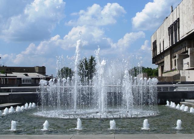 У Харкові стартував сезон фонтанів