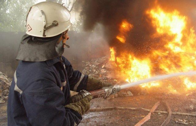 Сталася пожежа на насосній станції з видобутку нафти