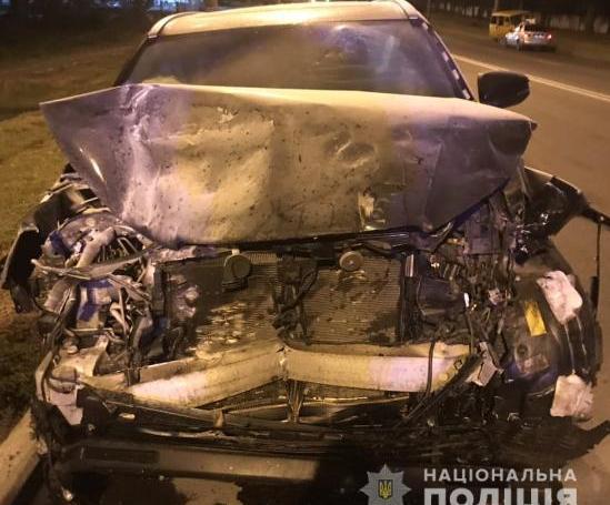 П'яний спричинив аварію на Білгородському шосе