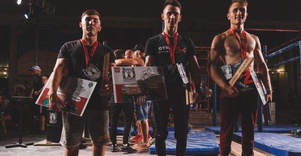 Харків'янин здобув призове місце на чемпіонаті України з воркауту