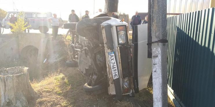 14-річний підліток за кермом спричинив аварію