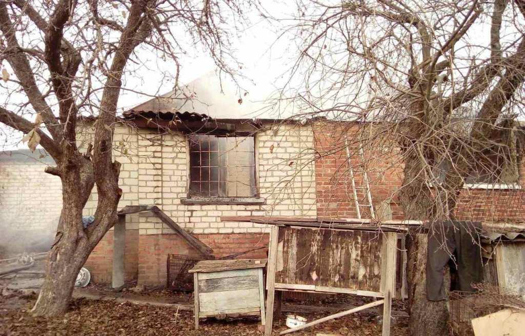У Богодухівському районі спалахнув приватний будинок
